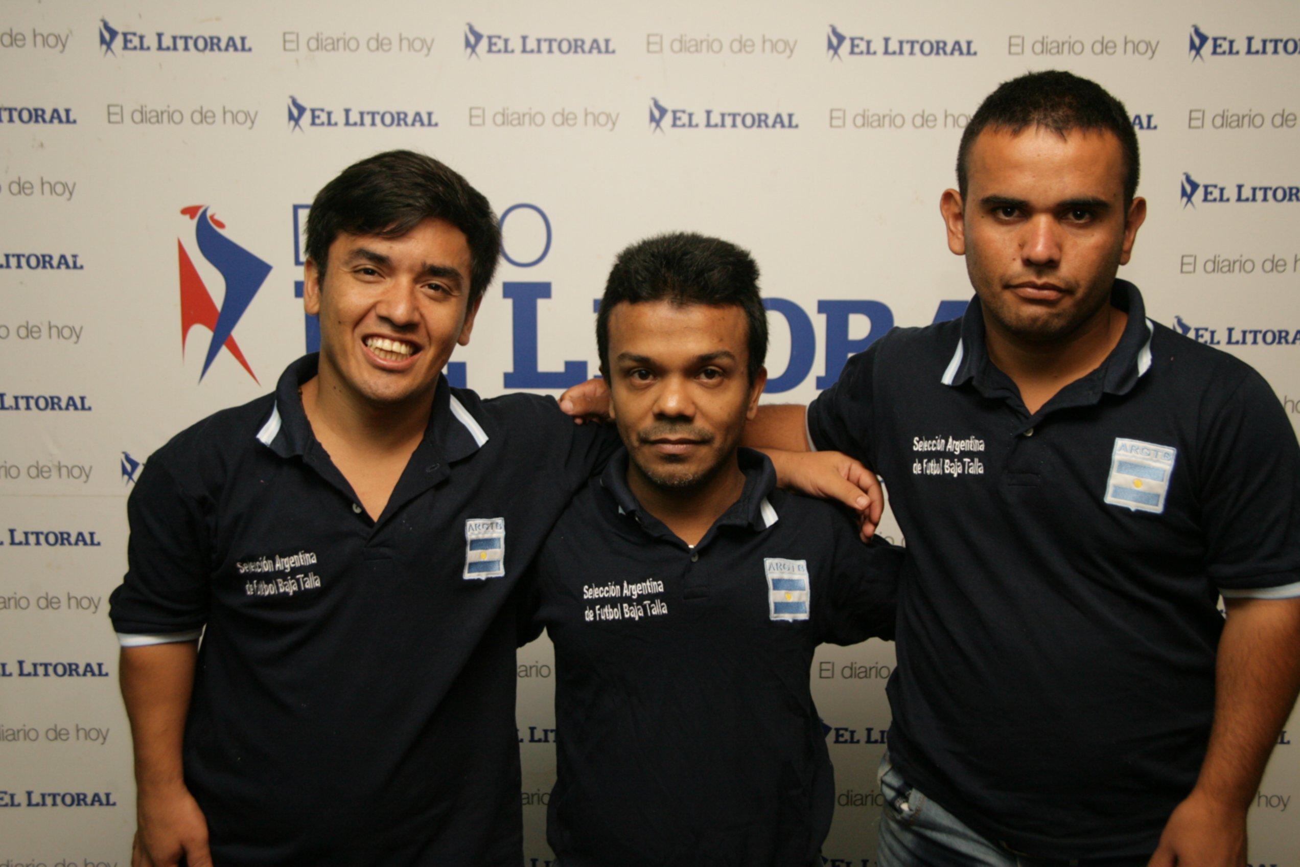 <p>Organizadores. Jugadores del seleccionado argentino de talla baja.</p>