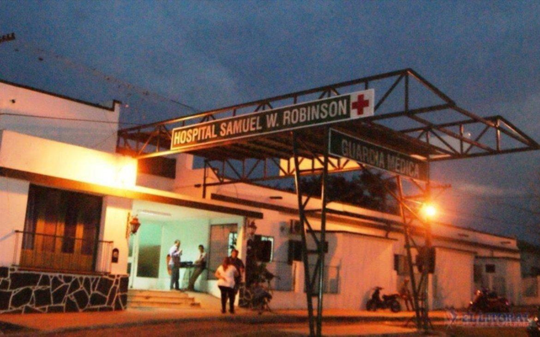<p>Terapia. El hombre de 57 años se halla internado en este hospital.</p>