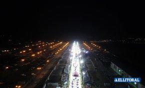 Mirá el paso de Ara Berá por el Nolo Alías desde el drone de El Litoral