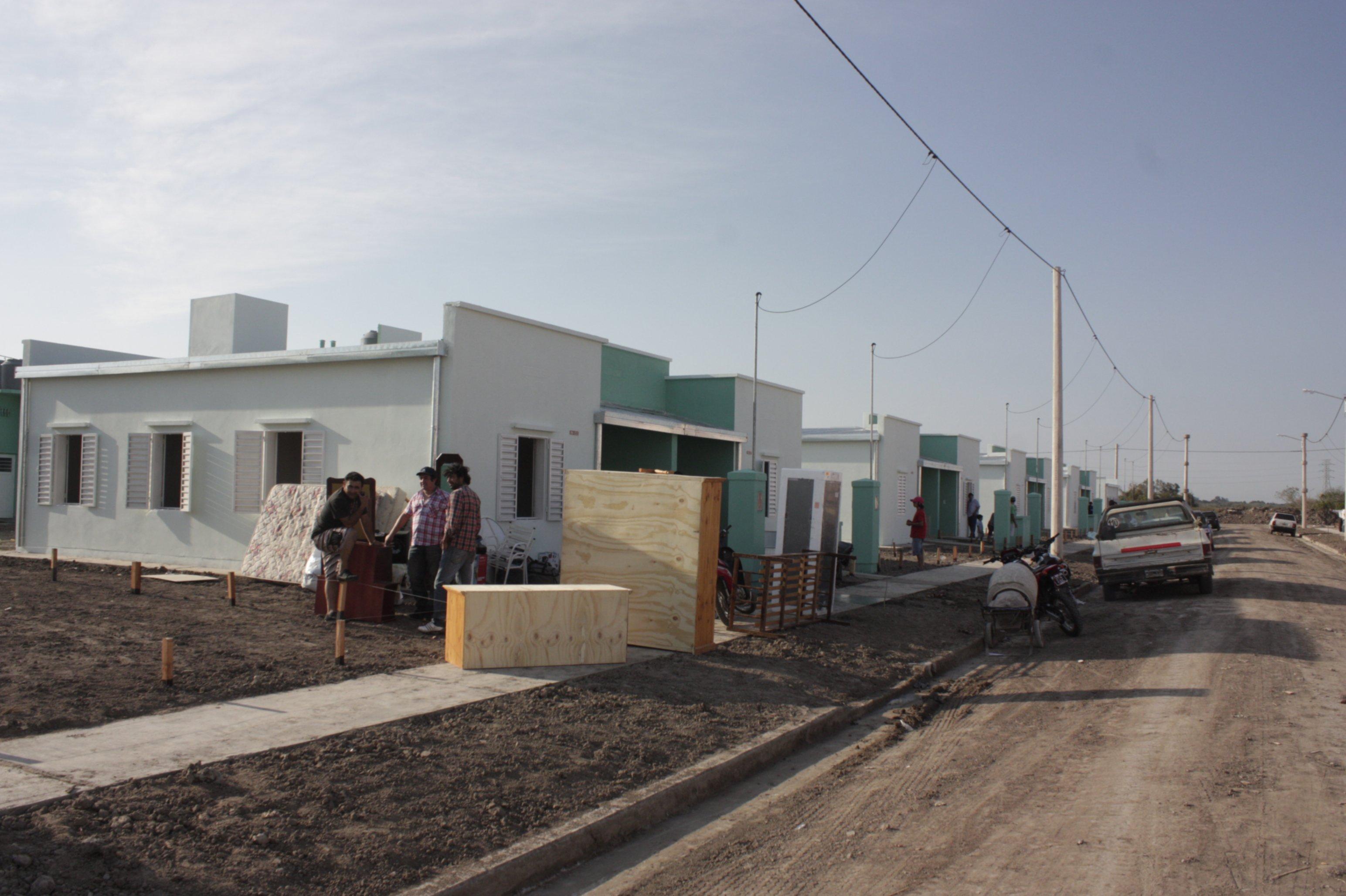 <p>Viviendas. Las familias esperan por tener su casa propia.</p>