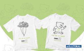 Convocan a regalar camisetas solidarias por San Valentín