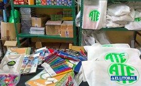 ATE entrega kits escolares para el inicio del ciclo lectivo