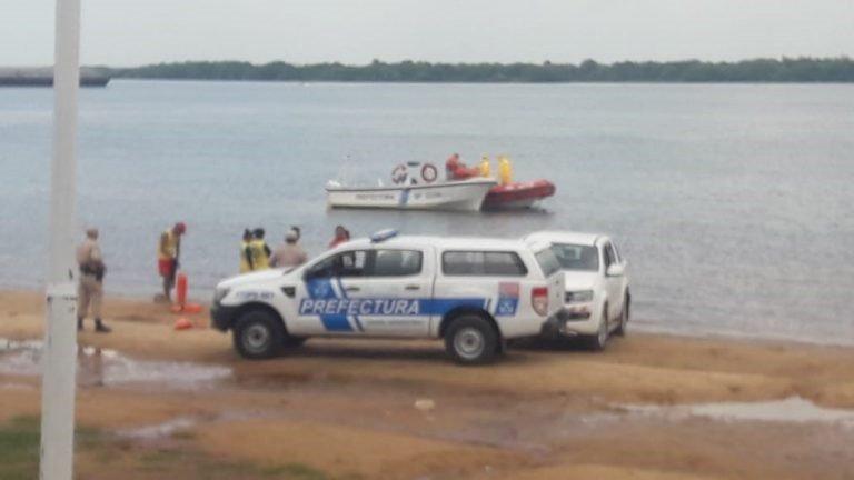 <p>Dolor. El niño se ahogó en las aguas del río Paraná.</p>