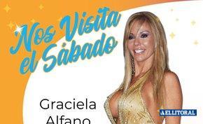 Graciela Alfano estará en Corrientes para el cierre de los carnavales
