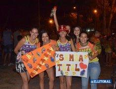 Festejos de Ara Berá y Samba Total luego del escrutinio