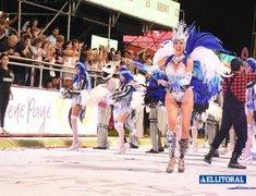 Octavo corso de los carnavales correntinos 2019