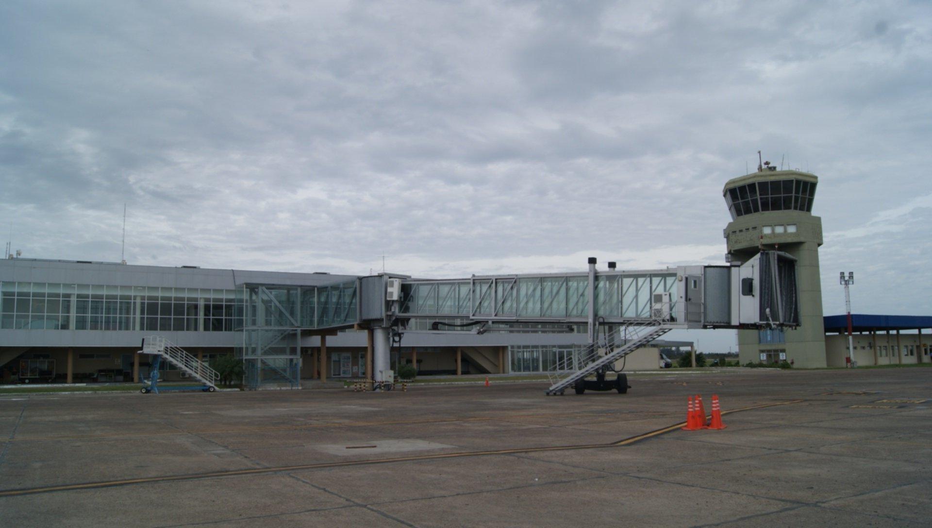 <p>Aeropuerto. La Nación proyecta instalar nuevos aparatos meteorológicos en la base Piragine Niveyro.</p>