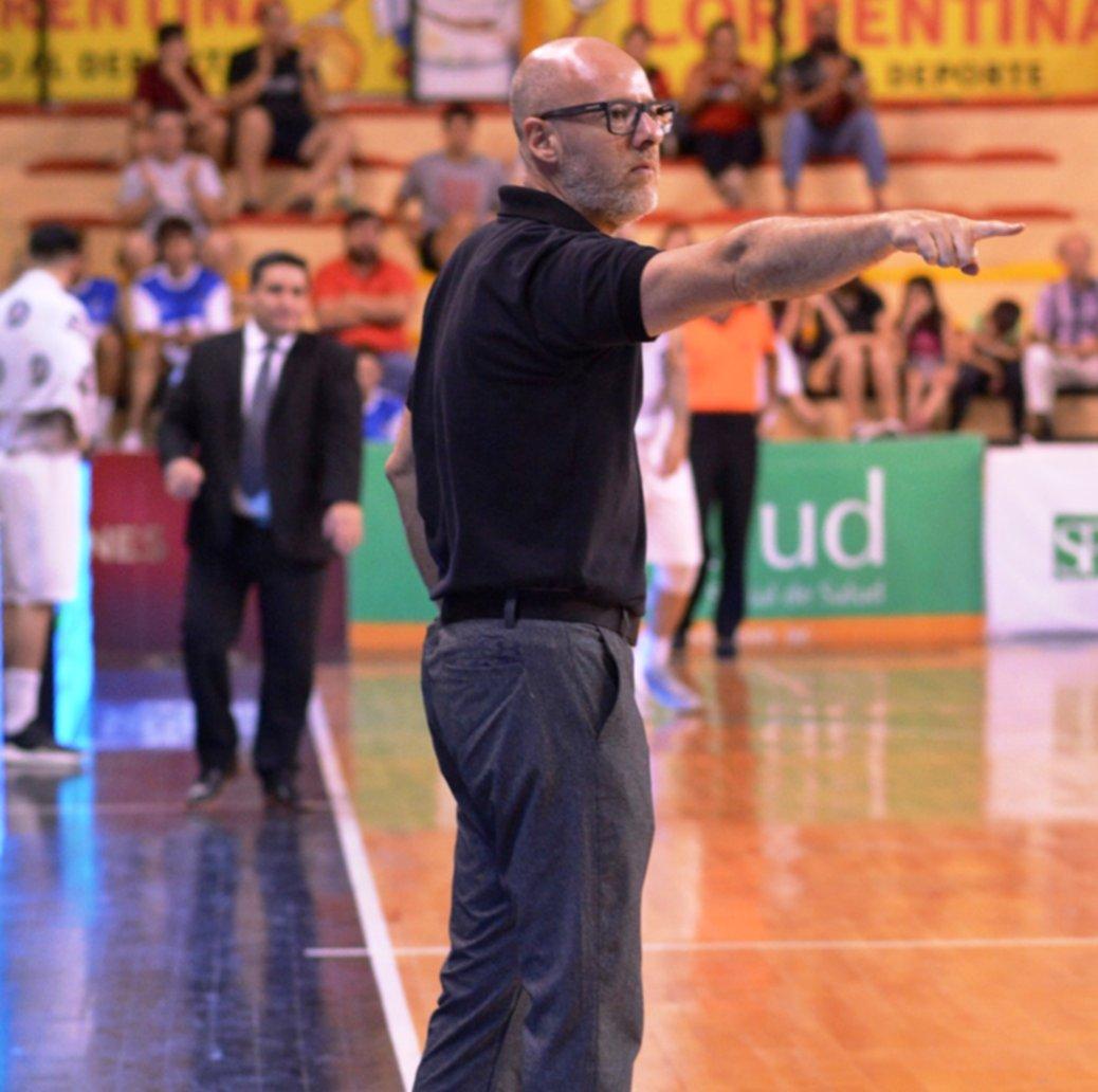 <p>DT. Vadell destacó el juego desarrollado por San Martín en la última parte del encuentro del lunes.</p>
