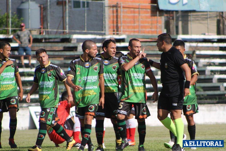 Avanzó. Ferroviario se quedó con los tres puntos frente a Defensores de San Roque.