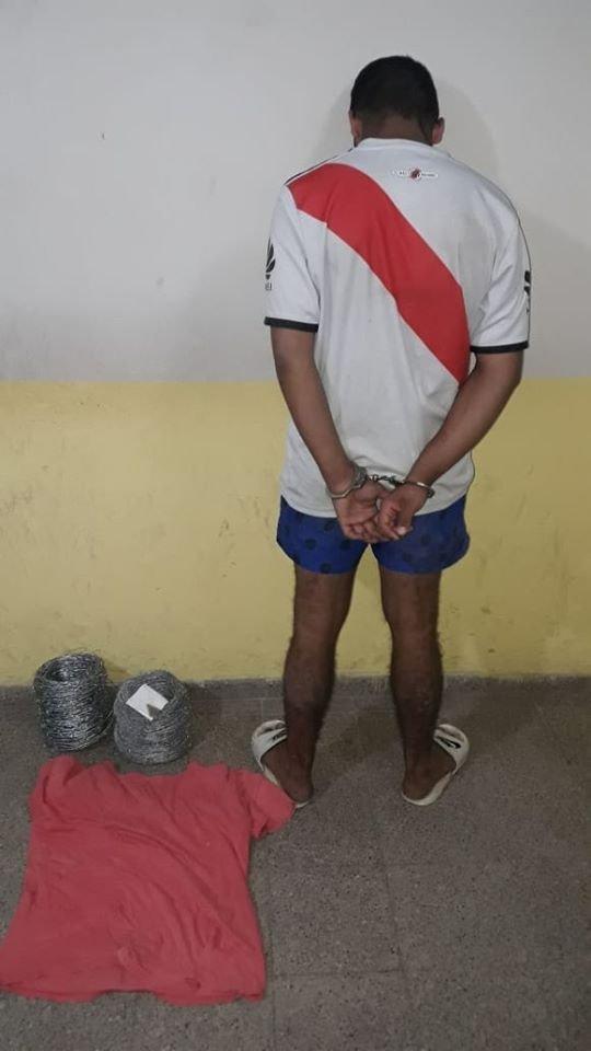 <p>Adolescente. El jovencito regresó a la cárcel.</p>
