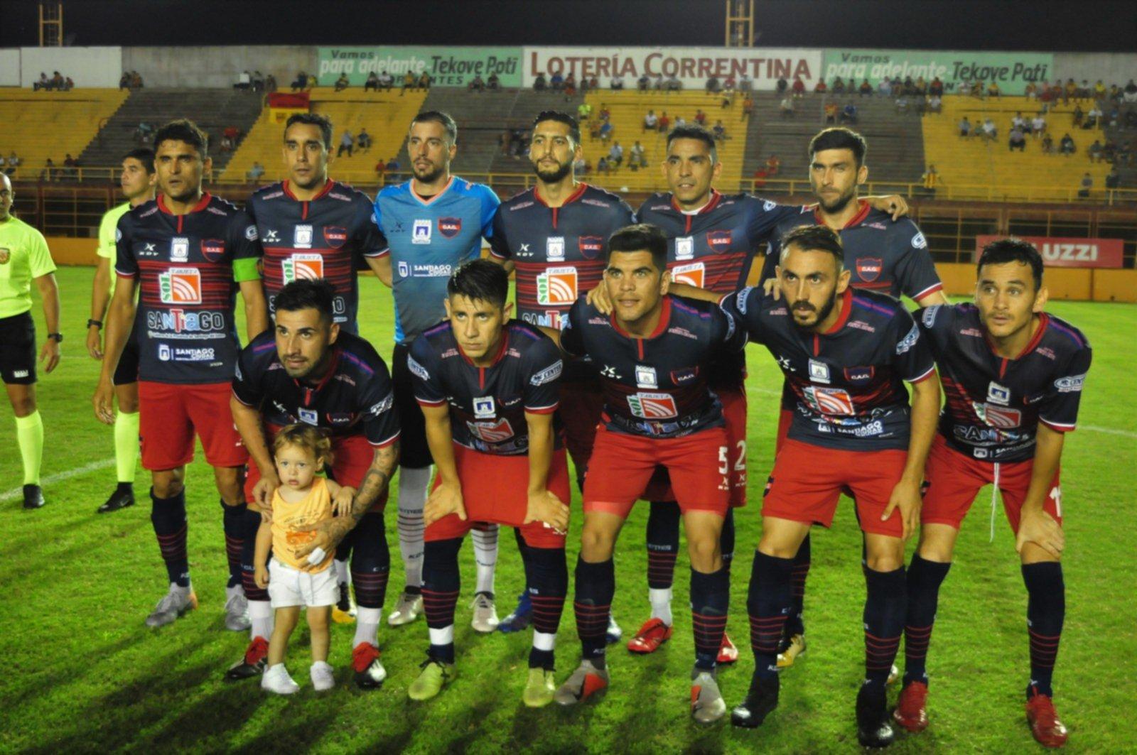 <p>Güemes. El equipo santiagueño podría ascender.</p>