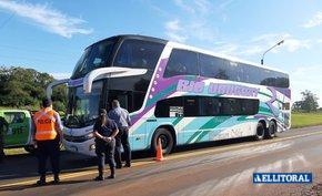 Venían de Brasil, intentaron entrar a un pueblo de Corrientes pero los frenó la policía