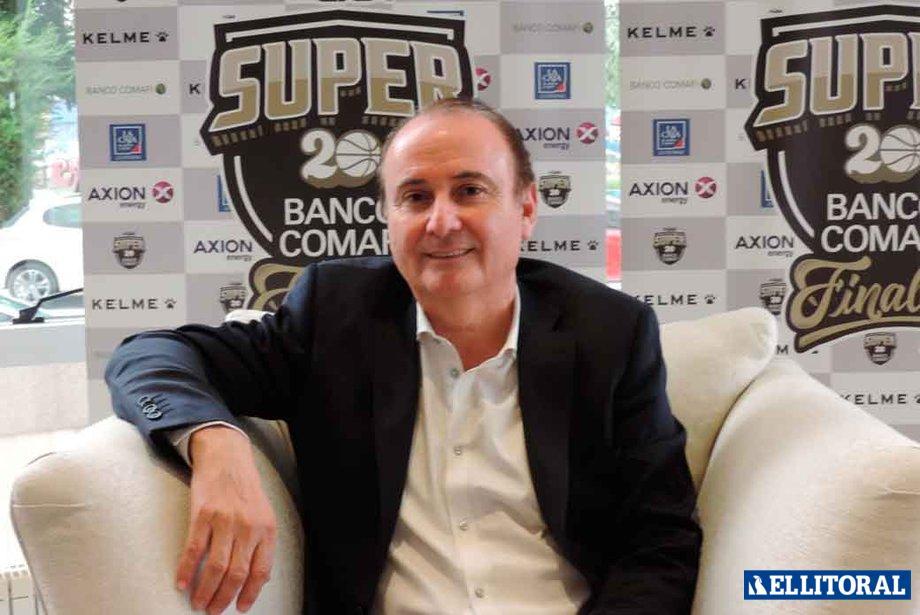 Presidente. Montenegro afirmó que la temporada 2019-2020 se va a terminar en la cancha.