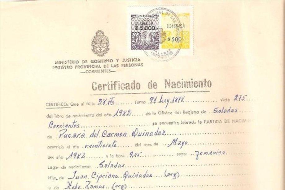 Contemporáneo Certificado De Nacimiento Del Condado De Cuyahoga ...