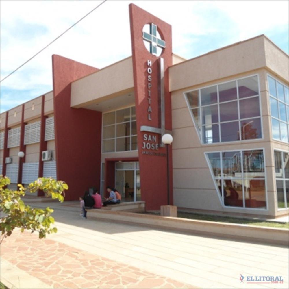 TRASLADO. Los cuerpos de las víctimas fueron alojados en el hospital de Paso de los Libres.