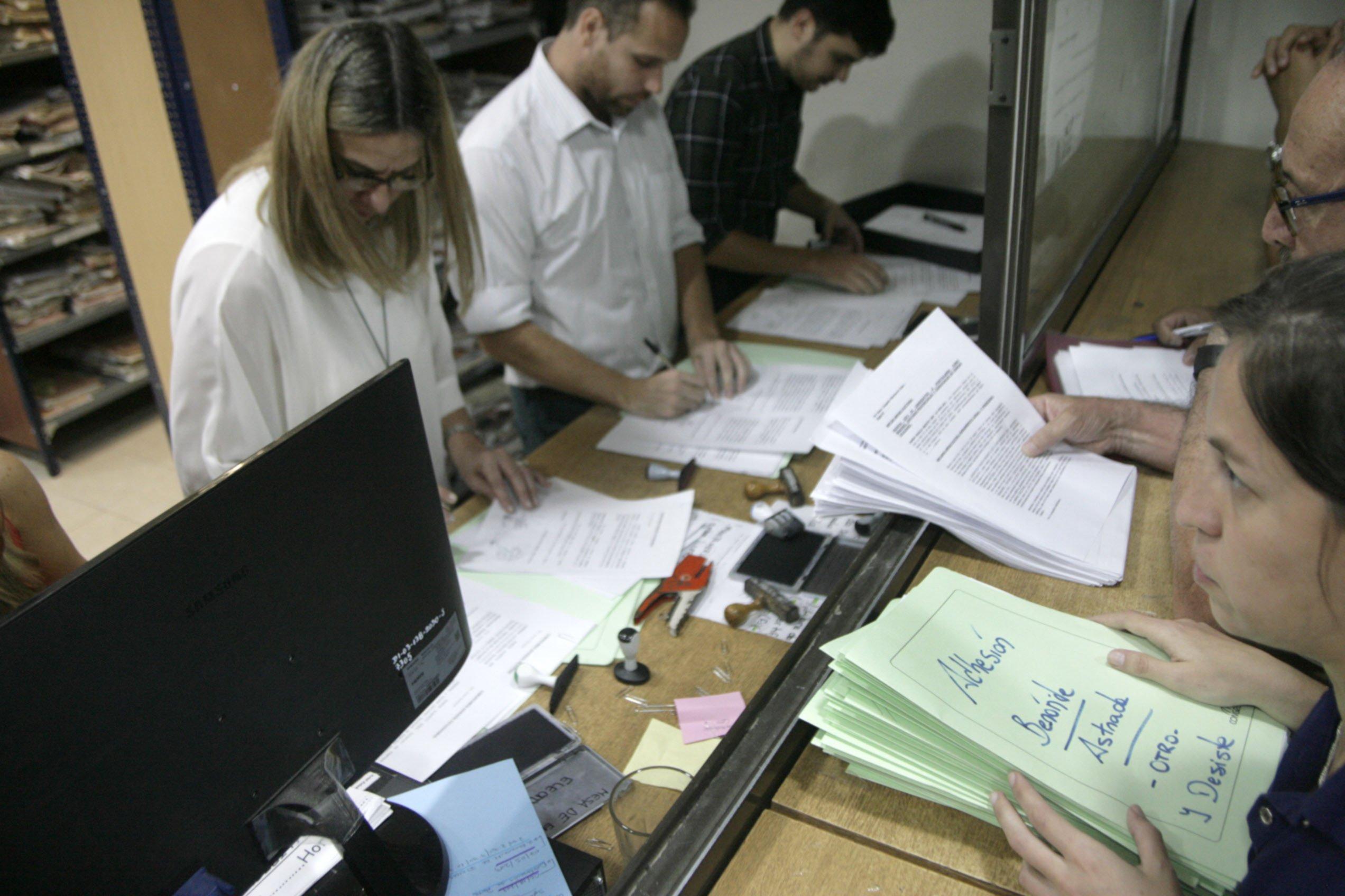 <p>Justicia. En la torre judicial se analiza cada una de las listas presentadas para el 2 de junio.</p>