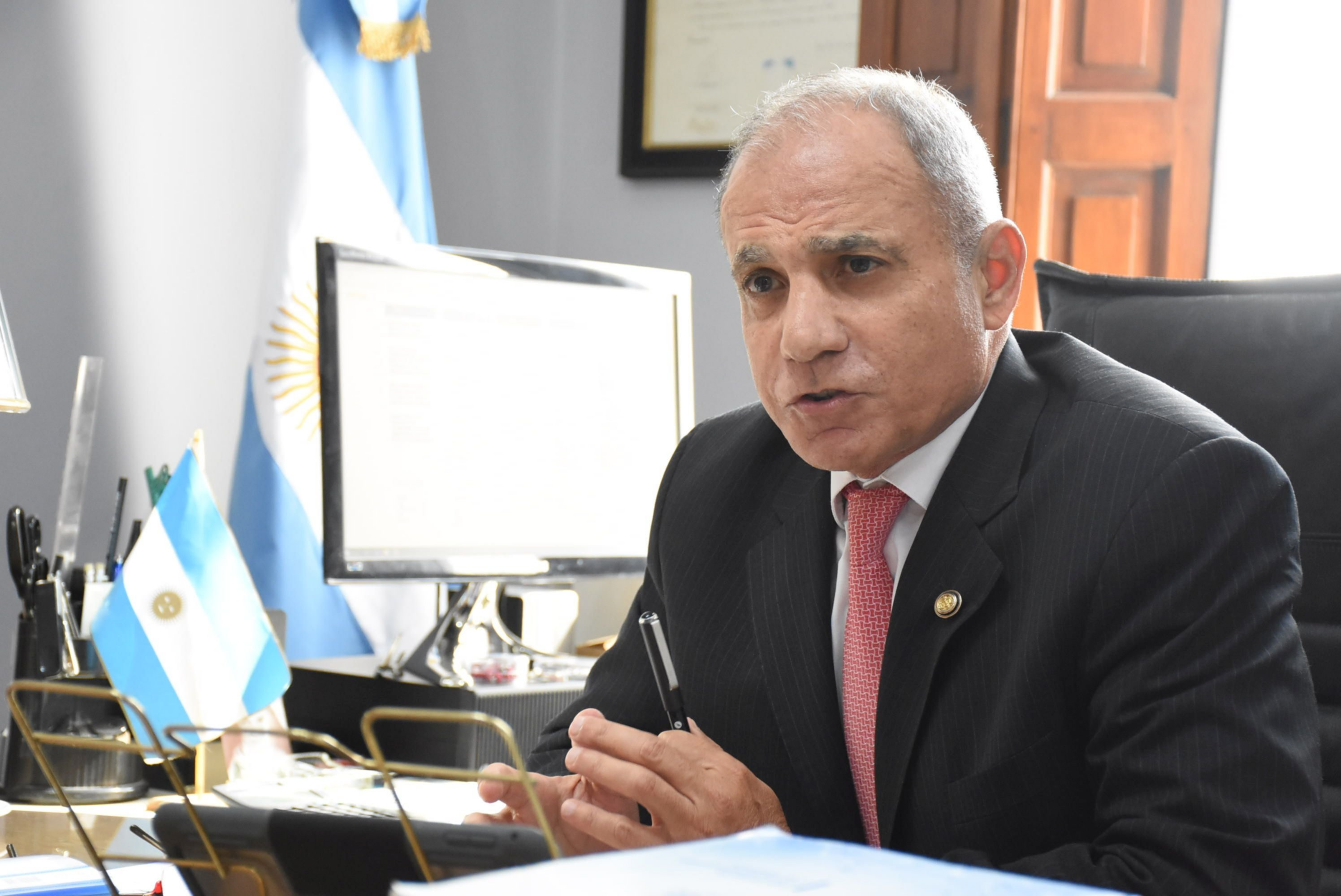 <p>Cambios. El ministro Semhan explicó detalles de la implementación de la oralidad en procesos civiles.</p>