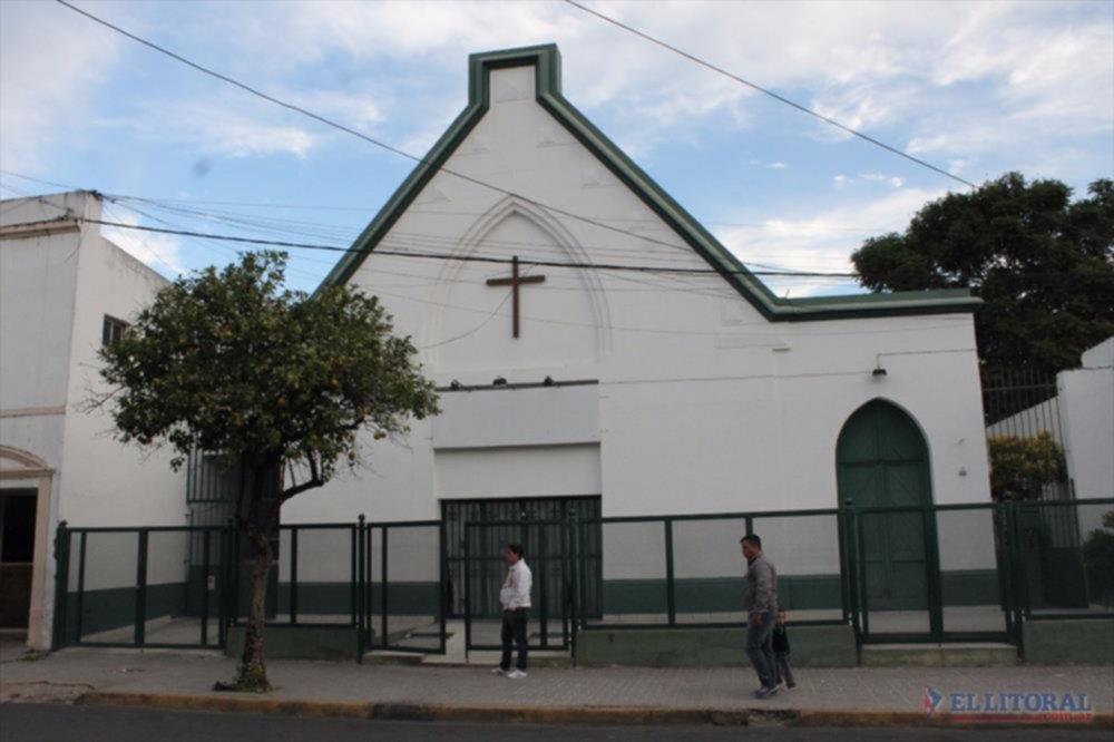 IGLESIA. El templo que cumple cien años está ubicado en el centro de la ciudad.
