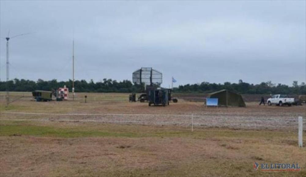 ACCION. Desde ayer funcionan los modernos radares en Chaco.