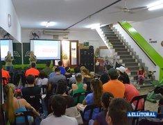 Charla de RCP y Nutrición en Gimnasio Le Club.
