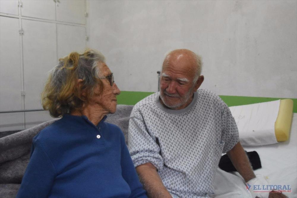 Amor. Se casaron el pasado lunes 22 pero están juntos hace 65 años.