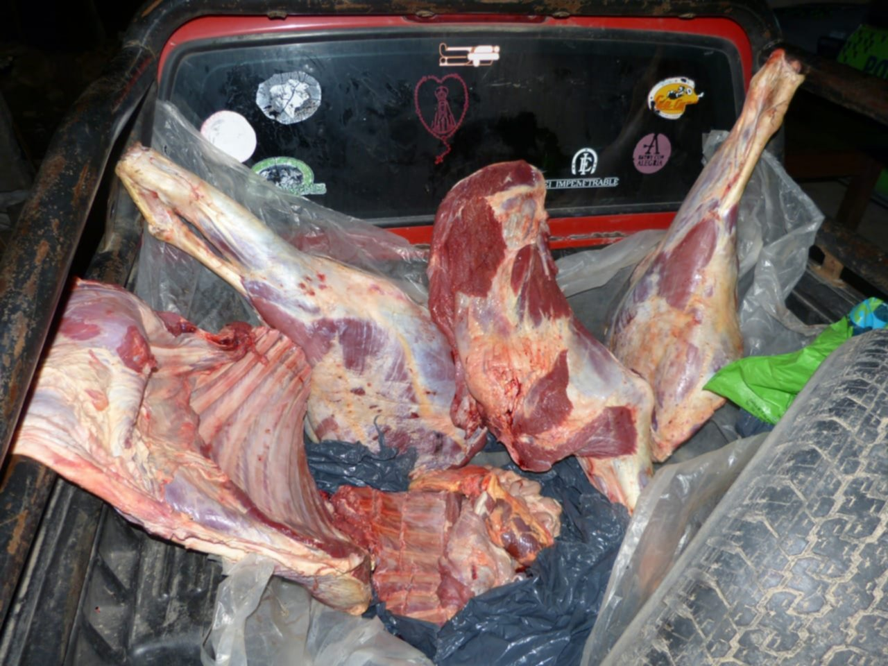 <p>Cortes. La mercader&iacute;a hallada era transportada de manera ilegal.</p>