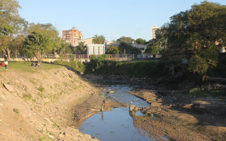 <p>Proyecto. Una de las intervenciones se hará en la zona del arroyo que pasa por el Parque Mitre.</p>