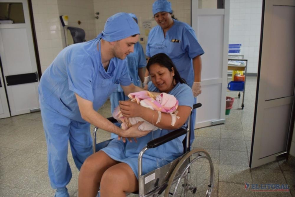 <p>Alumbramiento. Emma Trinidad fue la primera beba en nacer dentro de la Utpr, en septiembre de 2017.</p>