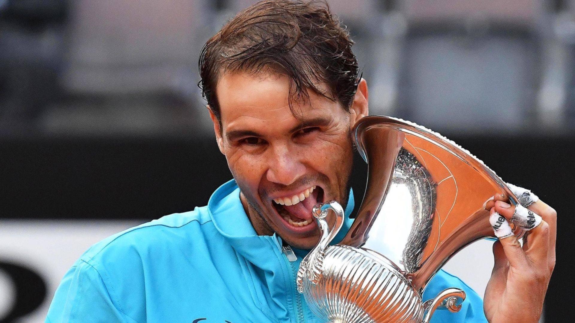 <p>Domina el Foro Itálico. Nadal nuevamente campeón en Roma.</p>