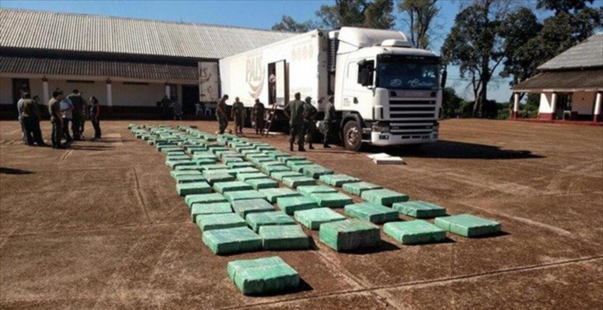 <p>Marihuana. En camión procedente de Misiones hallaron la droga.</p>