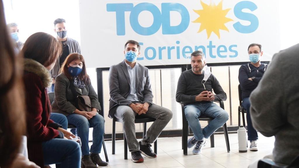 Zabaleta reunió a la dirigencia del PJ y garantizó el apoyo del Gobierno  nacional - El litoral