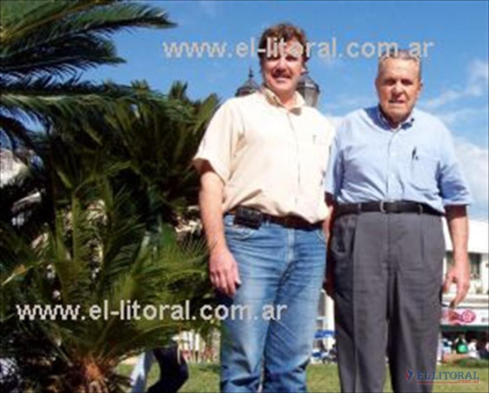 Padre e hijo, Mario y Gerardo, se destacan por una fuerte militancia política en la Democracia Cristiana.