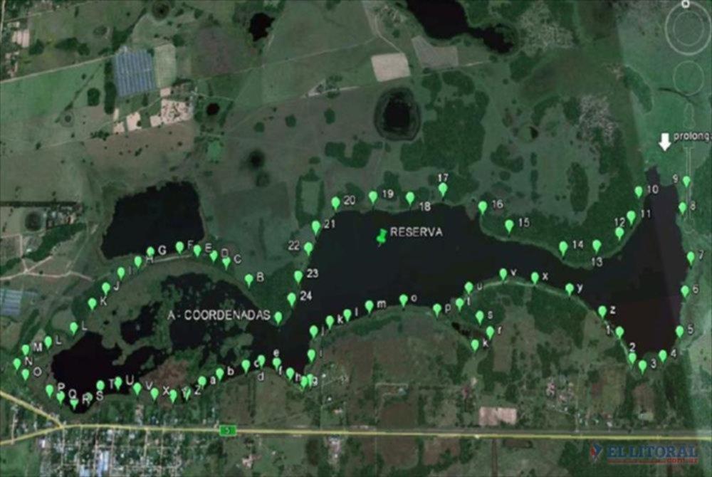 RESERVA. En la promulgación de la Ley 6115 quedaron establecidos los límites protegidos de la Laguna Brava.