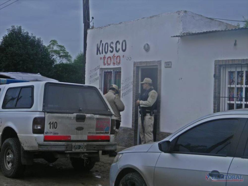 Captura. Los efectivos de las fuerzas federales llevaron a cabo una serie de allanamientos simultáneos en busca del prófugo. GENTILEZA/ TN GOYA