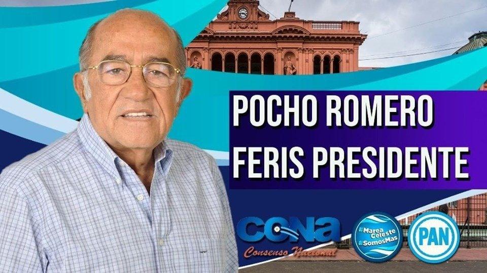 <p>Viral. Uno de los memes que es furor en las redes sociales preanunció la candidatura de Pocho Romero Feris hace un semana.</p>