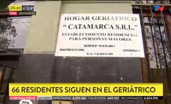 Hay 32 Casos Positivos En Un Geriatrico Del Barrio De Balvanera