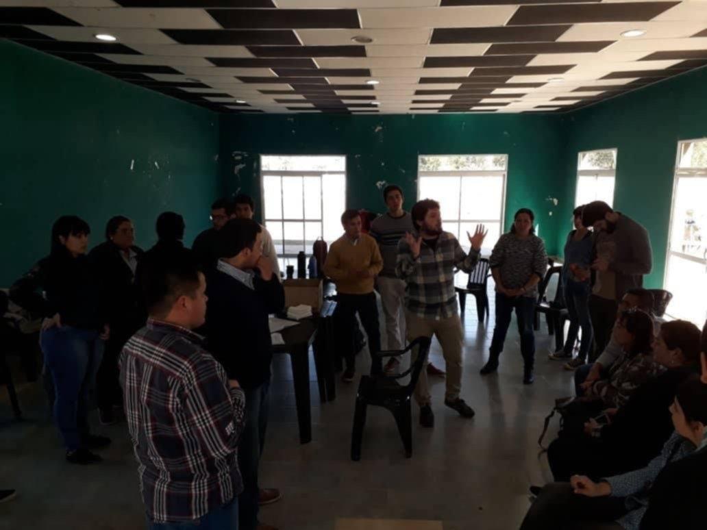 <p>Encuentro. Referentes de centros de estudiantes de profesorados se volvieron a reunir el s&aacute;bado pasado, esta vez en Saladas.</p>