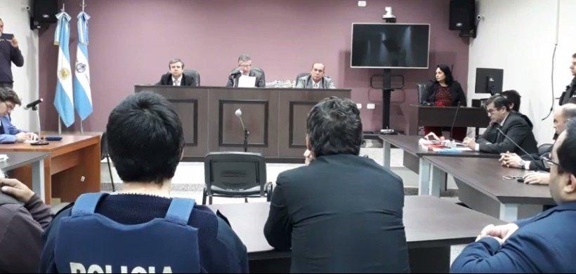 <p>En silencio. Los condenados decidieron no declarar antes de la sentencia.</p>