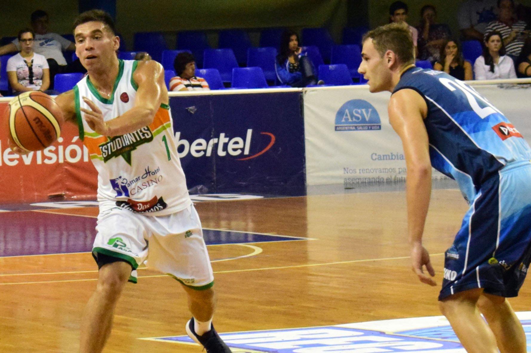 <p>Cara nueva. Leandro Vildoza acordó jugar dos temporadas en Regatas.</p>