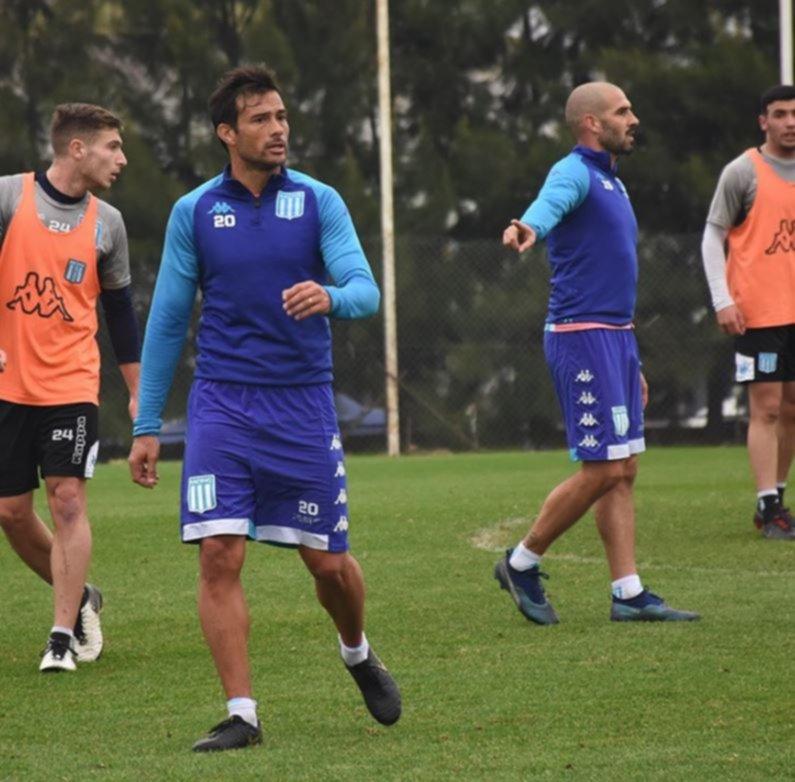 """<p>Estarán. Cvitanich y """"Licha"""" López jugarán el domingo.</p>"""