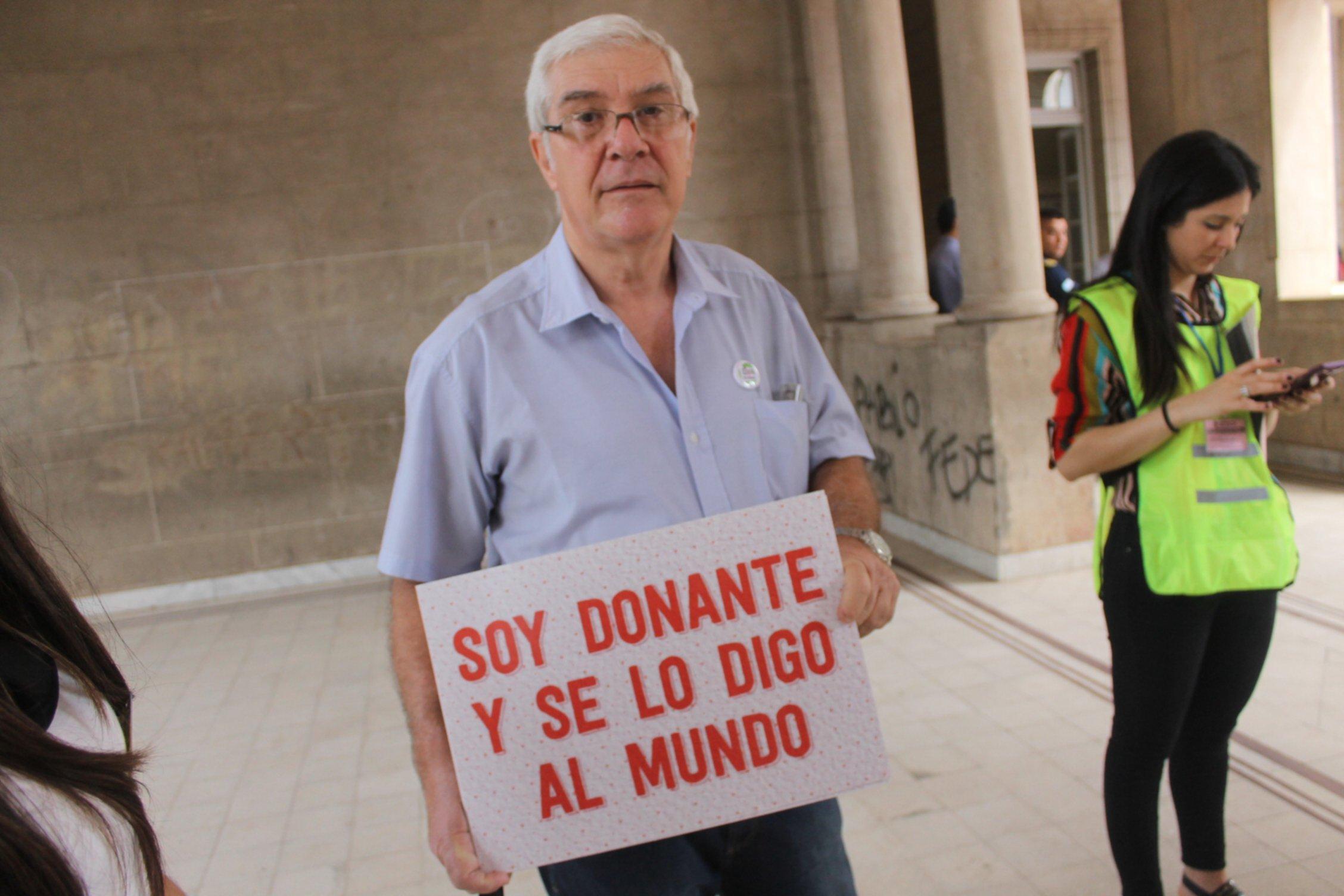 <p>Donación. Especialistas explican la importancia de dar a conocer la decisión de ser donantes.</p>