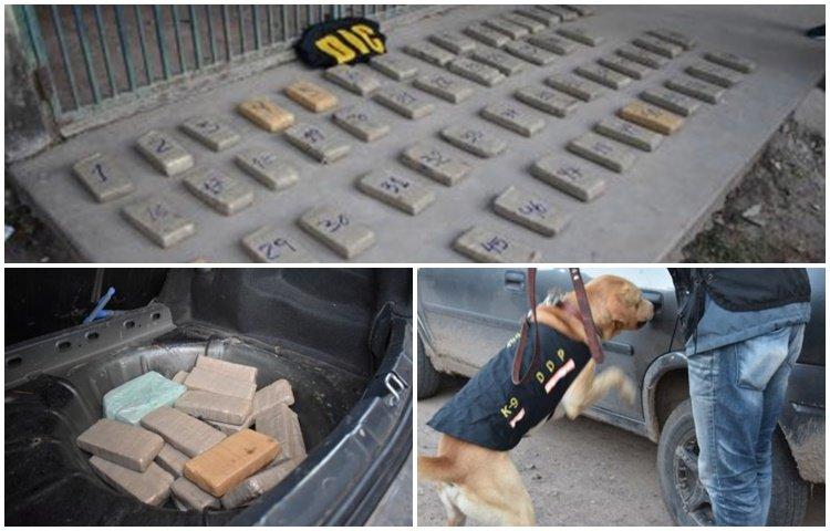 <p>Cargamento. La droga estaba oculta en varias partes del automóvil.</p>