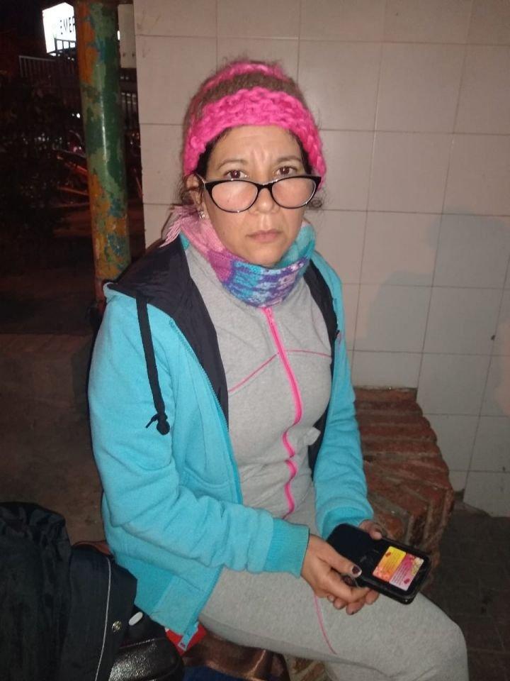 <p>Herida. Margarita permanece hospitalizada.</p>