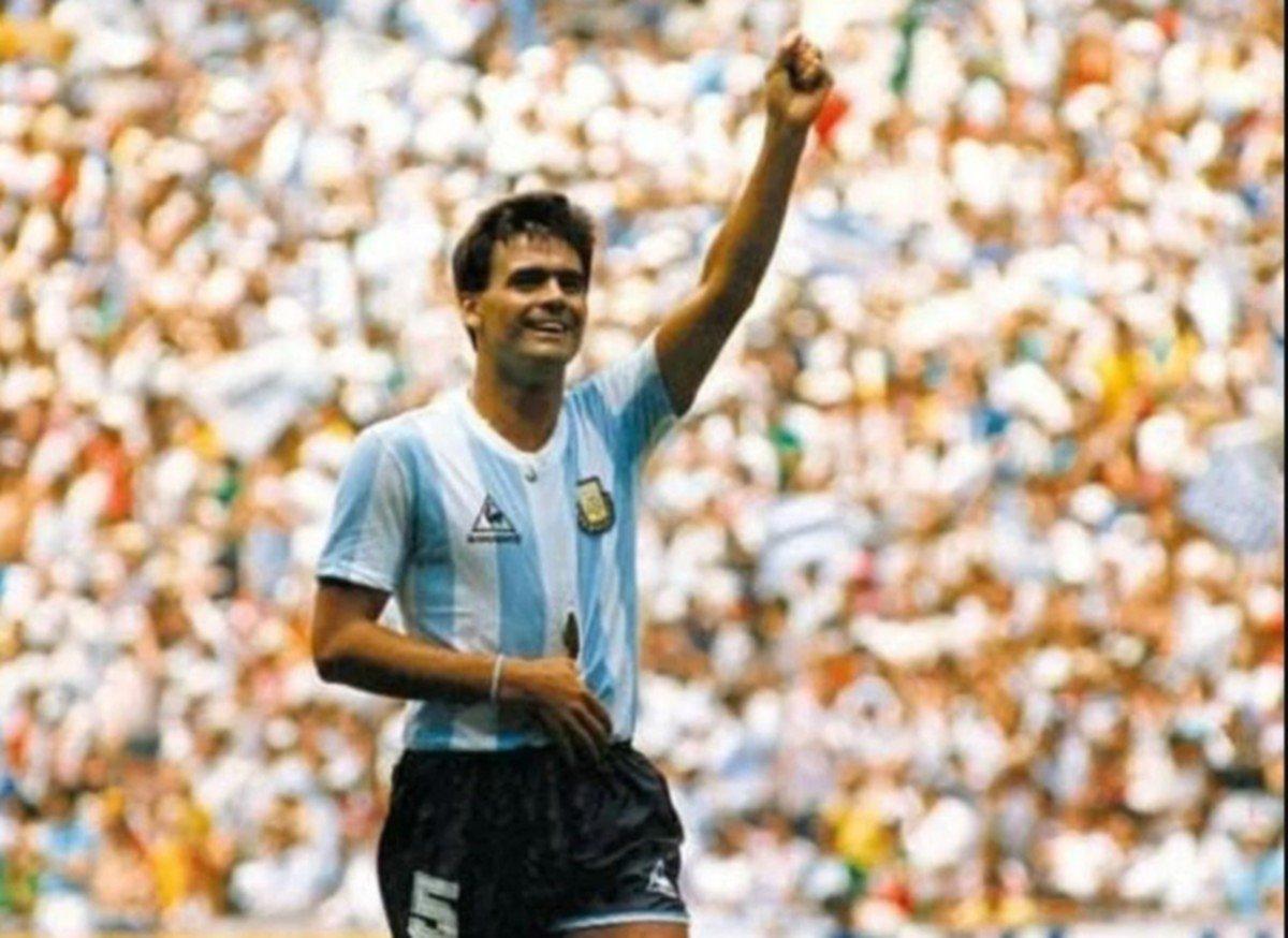 """<p>Gol. El """"Tata"""" convirtió el primer gol argentino ante Alemania.</p>"""