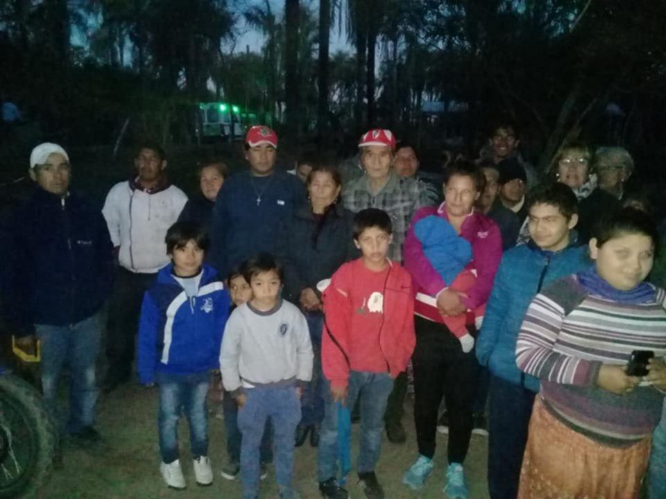 <p>Desalojo. Unas once familias fueron retiradas de La Tosquera.</p>