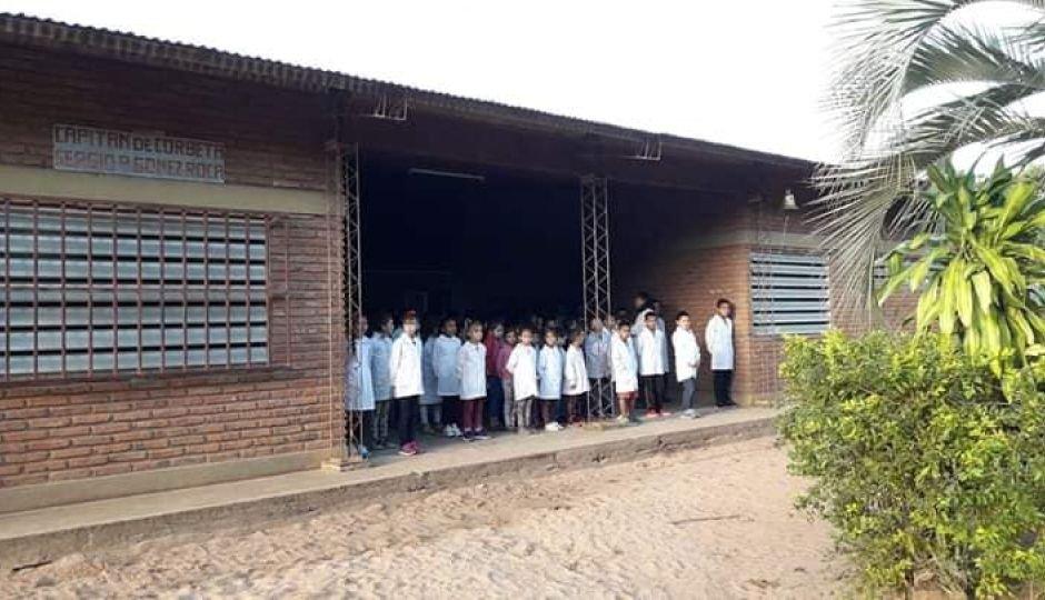 <p>Lugar. Al colegio asisten más de 200 alumnos de la primera sección El Pago.</p>