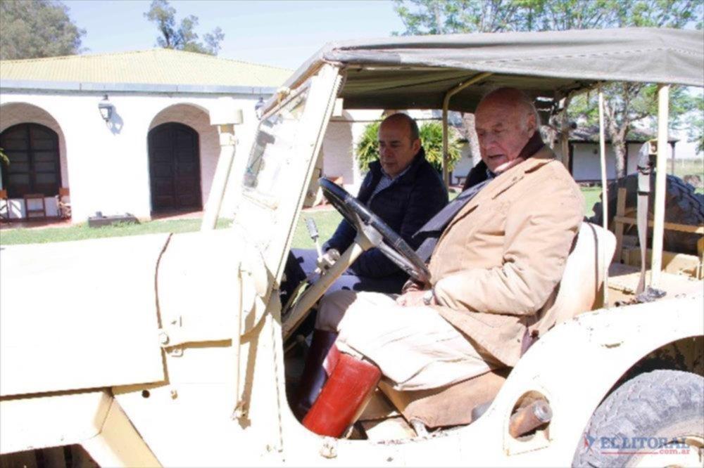 El vicegobernador busca reanudar las travesías didácticas de ...
