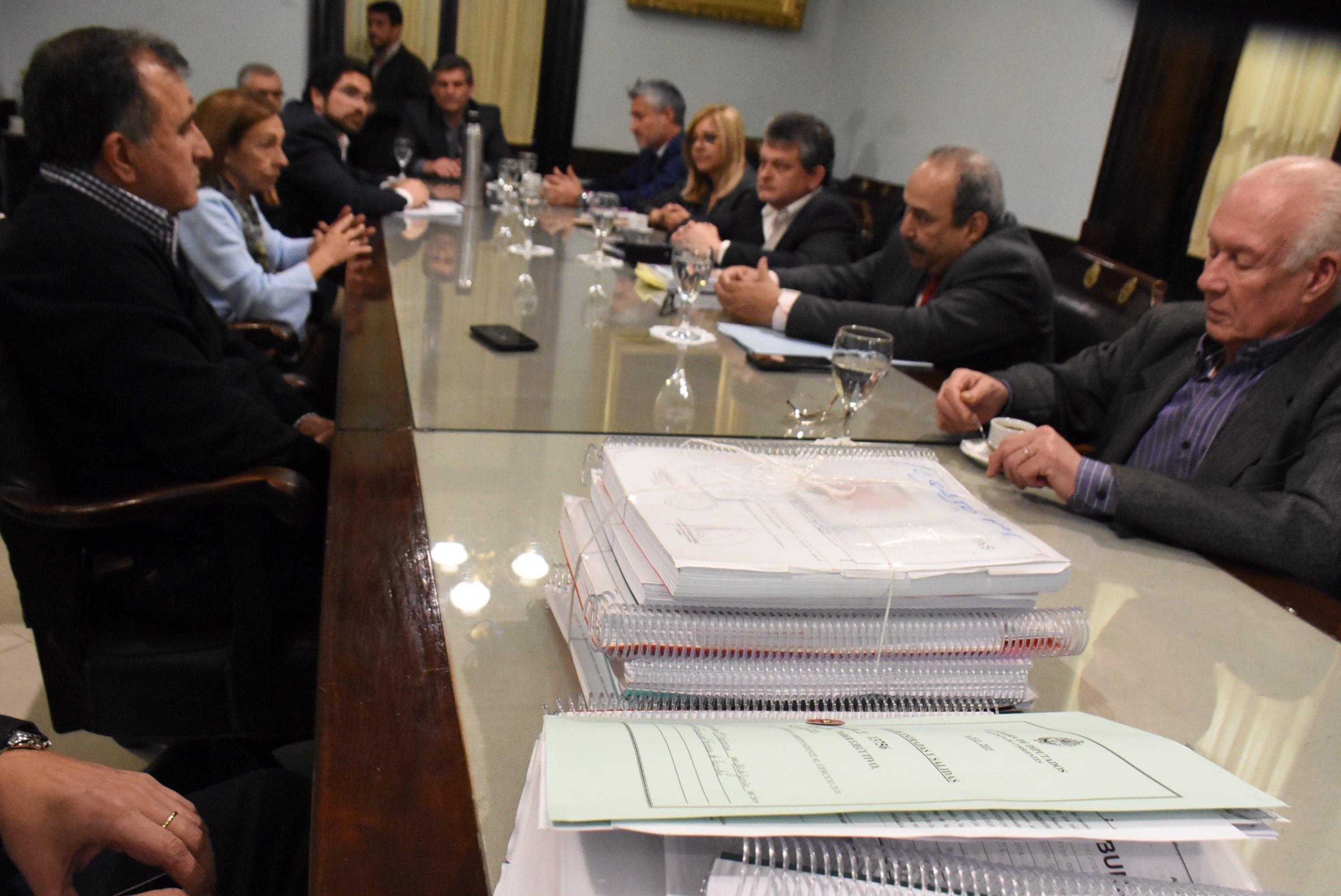 <p>Cuentas. La Comisión Mixta mantiene reuniones para analizar los números de la Provincia.</p>