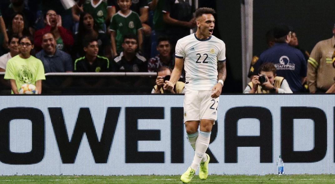 """<p>Destacado. El delantero Lautaro Martínez marcó tres goles frente a México y manifestó sentirse """"muy emocionado"""".</p>"""