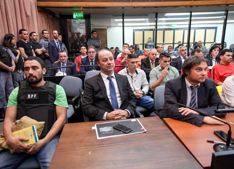 """<p>Debate. """"Morenita"""" Marín, acusado de ser un líder narco.</p>"""
